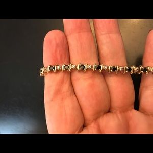 Tennis bracelet from Kay's Jewelry sapphires